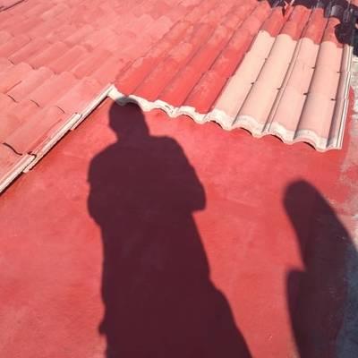 Impermeabilizar losa y colocación de teja y construcción de Alberca