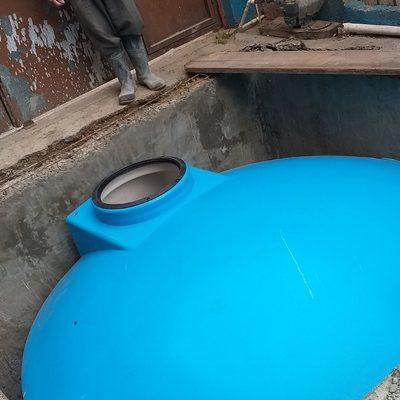 Construcción e instalación de cisternas prefabricadas