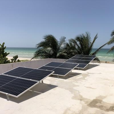 Instalacion de Paneles solares en Progreso Yucatan
