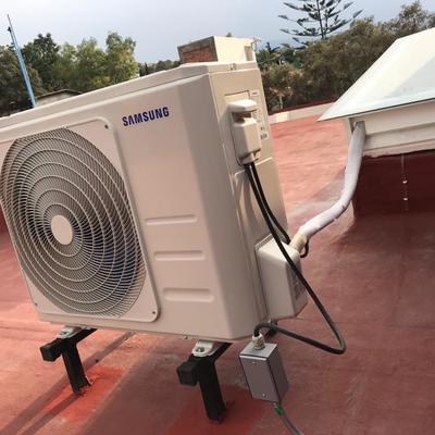 Instalación de Aire Acondicionado tipo Split Marca: Samsung 22,000 BTU Frio y Calor Inverter 220 volts R-410A