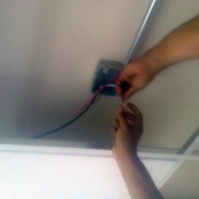 Instalación eléctrica de casa habitación.
