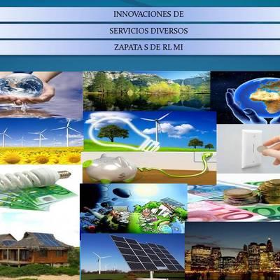 PRESENTRACION DE LOS SERVICOS QUE ATENDEMOS CON ENERGÍAS LIMPIAS