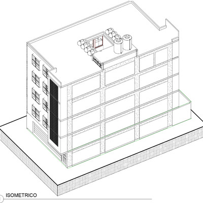 Edificio de departamentos Coyotepec