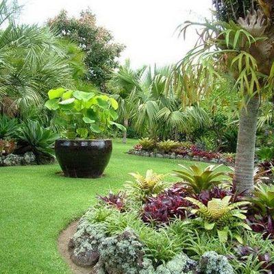 Reconstruir un jardín dentro de una residencia