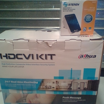 Instalación de un Kit de CCTV