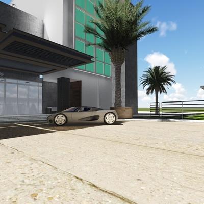 Lahia Cancún - Lobby y Motor Lobby