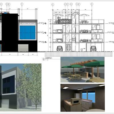 Diseño casa san bartolo