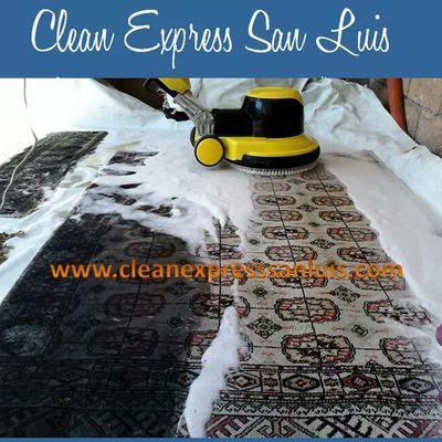 Limpieza de tapetes
