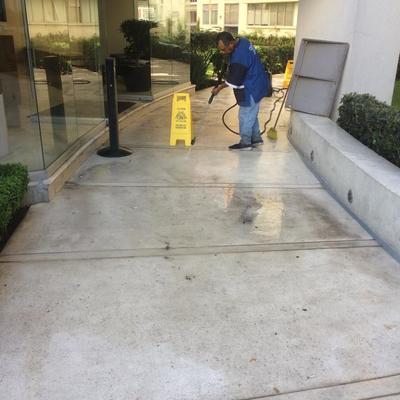 Limpieza de áreas comunes