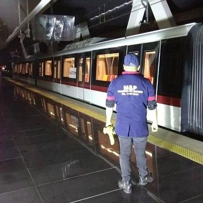 Limpieza Profunda Estaciones de Tren Ligero en Guadalajara.