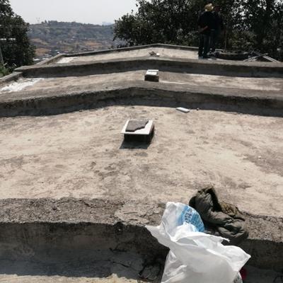Impermeabilizacion en losa de cemento