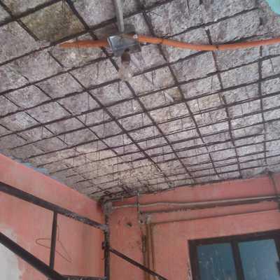 Recuperacion estructural de losa de concreto en entrepiso
