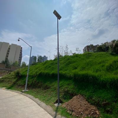 Instalación de Luminaria Solar Autónoma