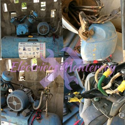 Mantenimiento a compresor neumático