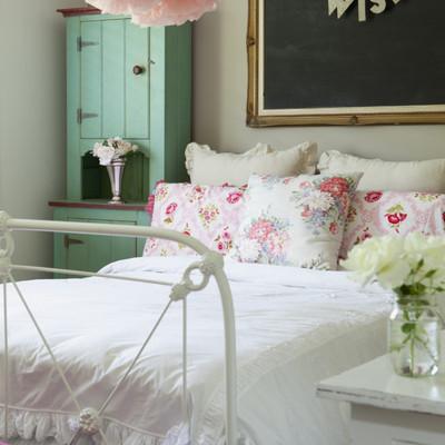 Enamórate de los dormitorios Shabby Chic