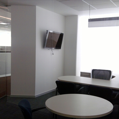 Mobiliario en oficina.