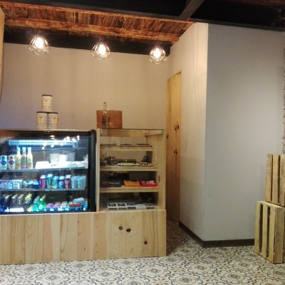 Diseño de interiores Tienda Gourmet