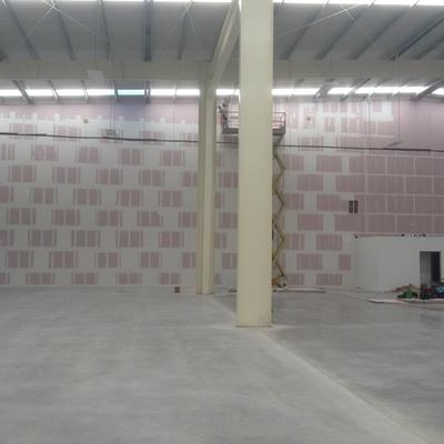 muro antifuego de 13 m de alto