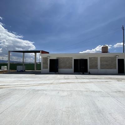 Construccion de taller para tractocamiones en CEDIS SIMSA