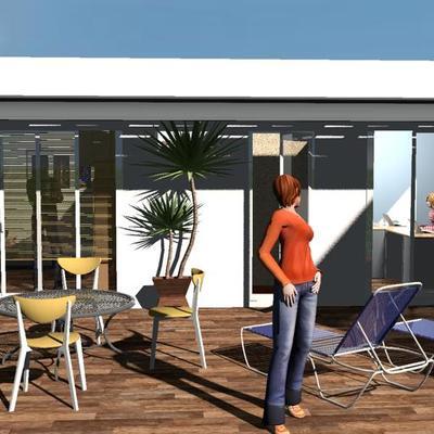 Oficina en Roof Garden