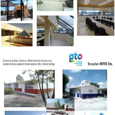 Construcción de Oficinas y Escuelas de Gobierno