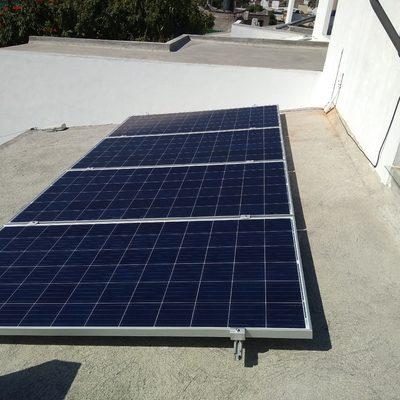 Instalación de 4 Paneles Solares en Residencial La Palma, Jiutepec