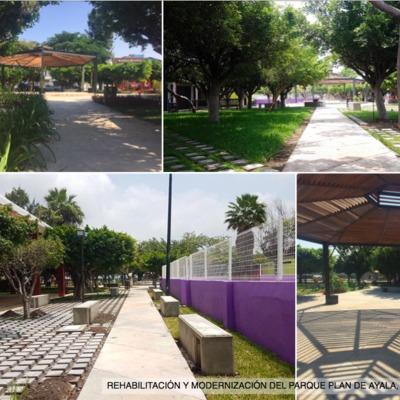 Remodelación Parque Plan de Ayala