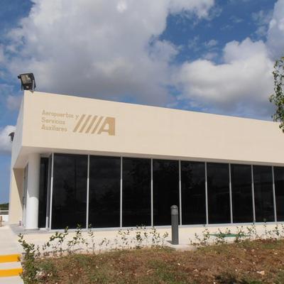 Comedor oficinas Aeropuertos y Servicios Auxiliares, Aeropuerto de Campeche