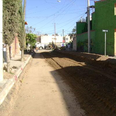 pavimentación de calle