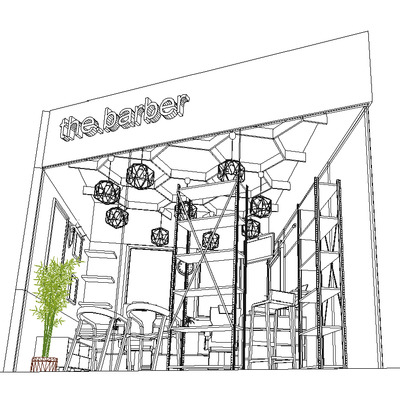 the barber shop // torre totalplay