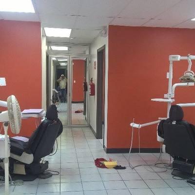 remodelacion y acabado en pintura de clinica dental