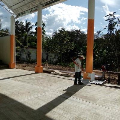 Construcción de Cancha Techada y Remodelacion de edificio Casa del Migrante Palenque Chiapas