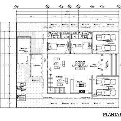 Proyecto Casa Habitación Baja California