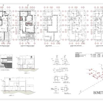 Proyecto Arquitectonico para Casa Habitacion en Cordoba Ver, Colonia Antorchista