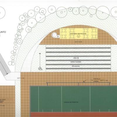 """anteproyecto """"REMODELACIÓN DE LAS INSTALACIONES DE CLUB DEPORTIVO TABASCO"""""""