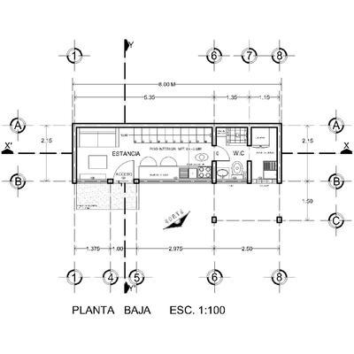 TINY HOUSE; Tepoztlán, Mor.