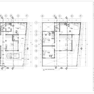 Planos arquitectónicos.