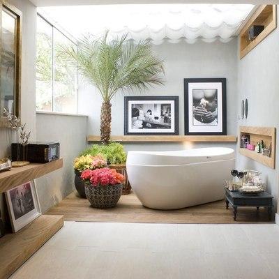 plantas en el bañoo