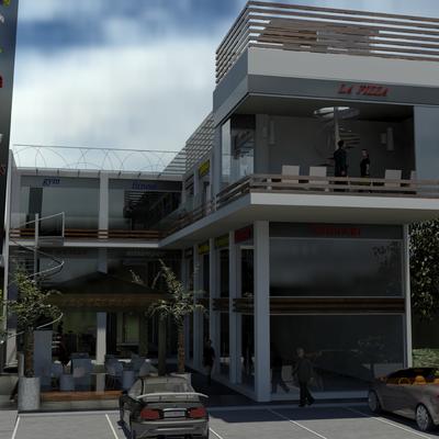 Plaza Comercial Radial Zapata