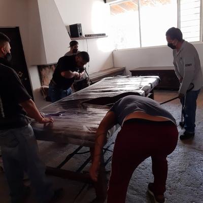 Mudanza residencial , embalaje de mobiliario