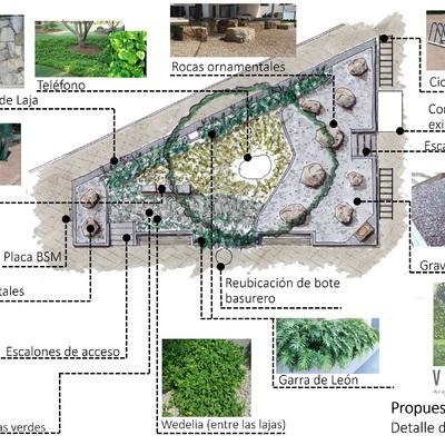 Proyecto de Rehabilitación de Jardín Central Ameca Jalisco