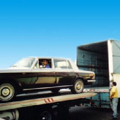 Primer traslado de Automovil en el año 1991.