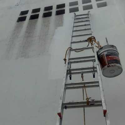Impermeabilizacion y pintura de pared