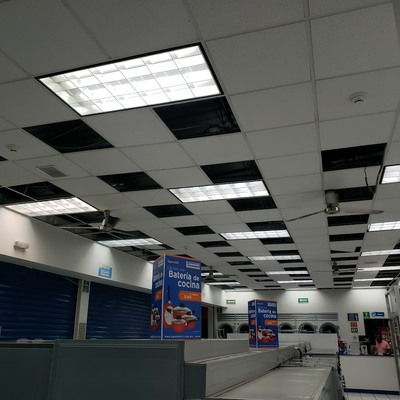 Renivelacion de Falso Plafond Modular