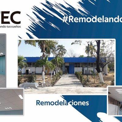 Trabajos de Remodelacion Edificio Ingenieria Electrica, Tecnologico Nacional, Tuxtla Gtz, Chiapas.