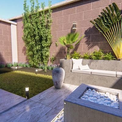 Remodelación de patio