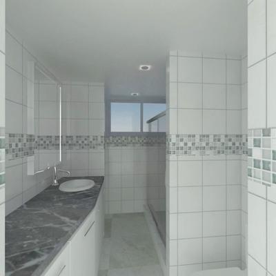 Propuesta de remodelación de baño 5m2