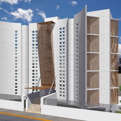 Proyecto arquitectonico de edificio 10 departamentos
