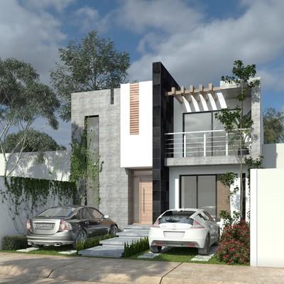 Proyecto Casa - Habitación Huerta