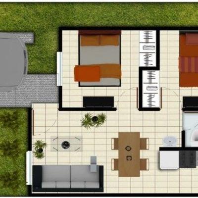 Proyectos de casas sencillas de una planta dos plantas